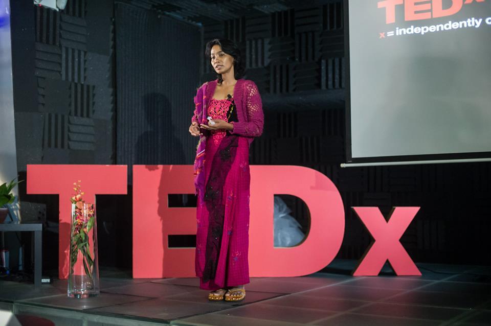 TEDxPeacePlaza 2013 Nwe Oo