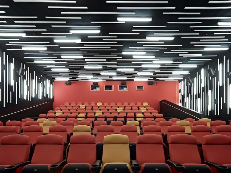 The interior of the San Francisco Film Society | New People Cinema.